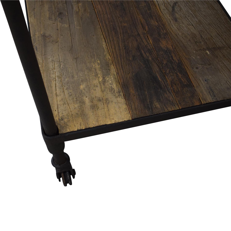 Restoration Hardware Dutch Industrial Console Table sale