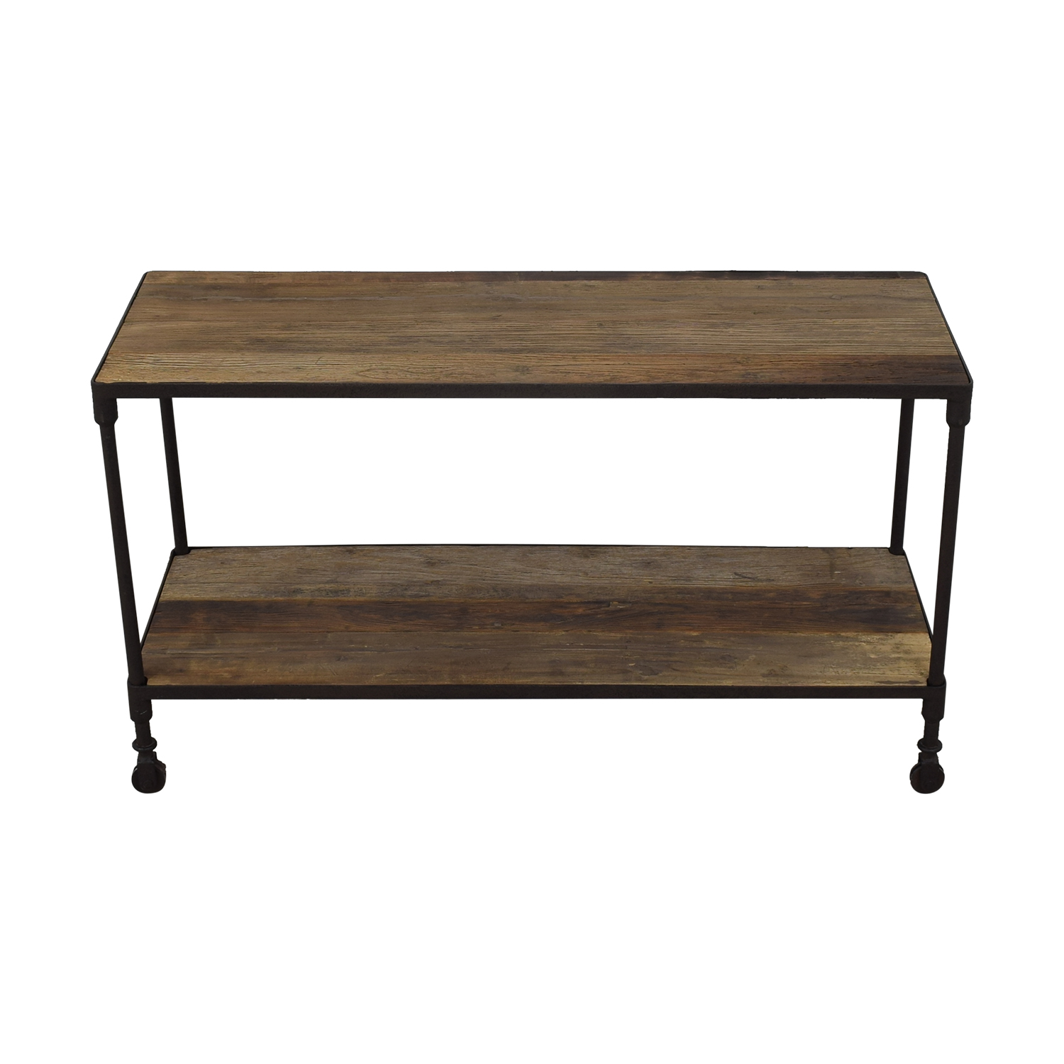 Restoration Hardware Restoration Hardware Dutch Industrial Console Table used