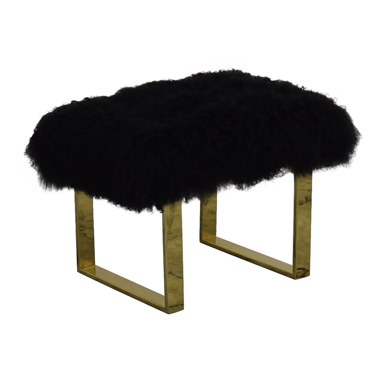 Fuzzy Modern Stool / Chairs