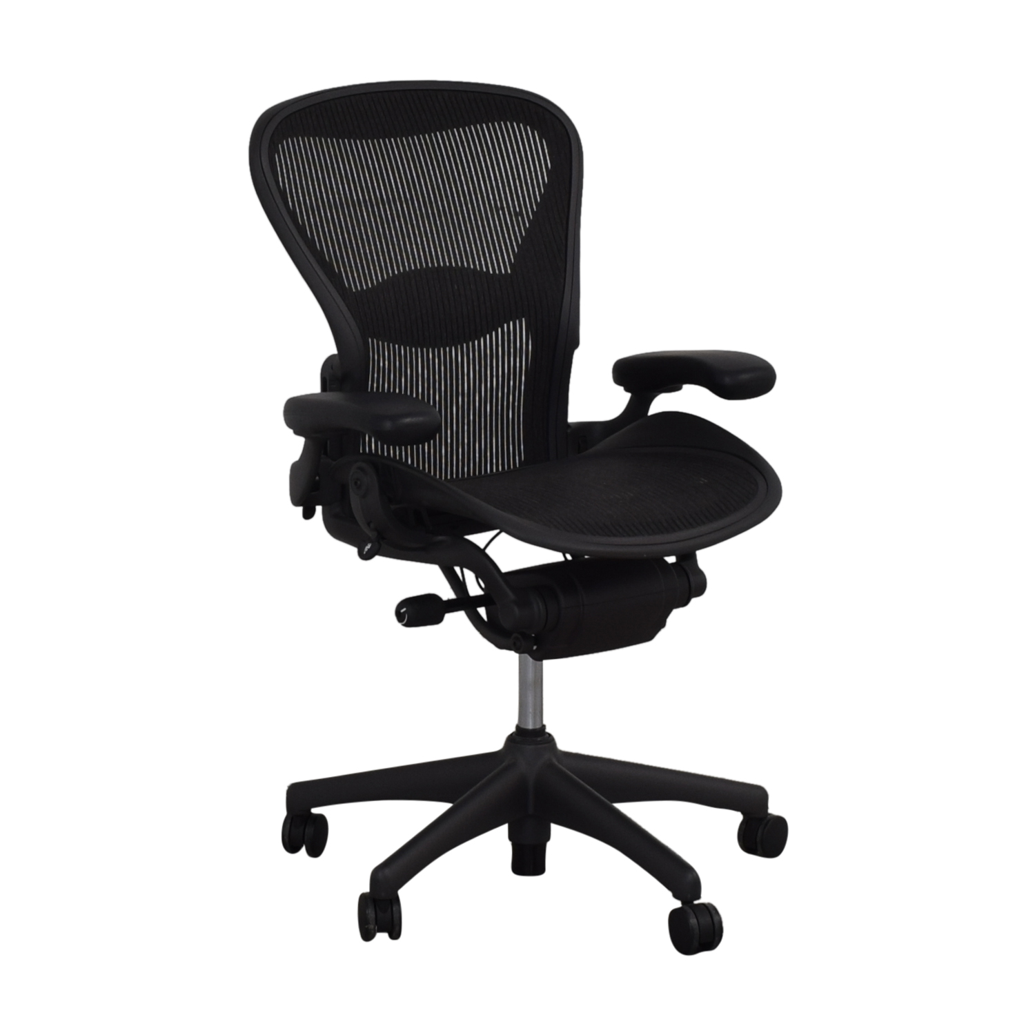 shop Herman Miller Aeron Medium Classic Size B Office Chair Herman Miller Chairs