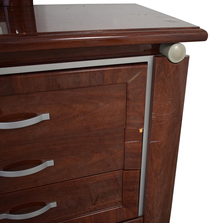 Arros Group Arros Group Furniture Dresser with Mirror Storage