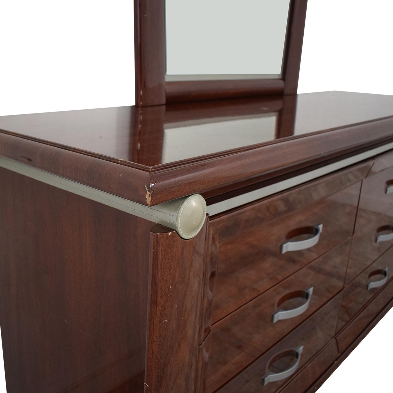 Arros Group Arros Group Furniture Dresser with Mirror
