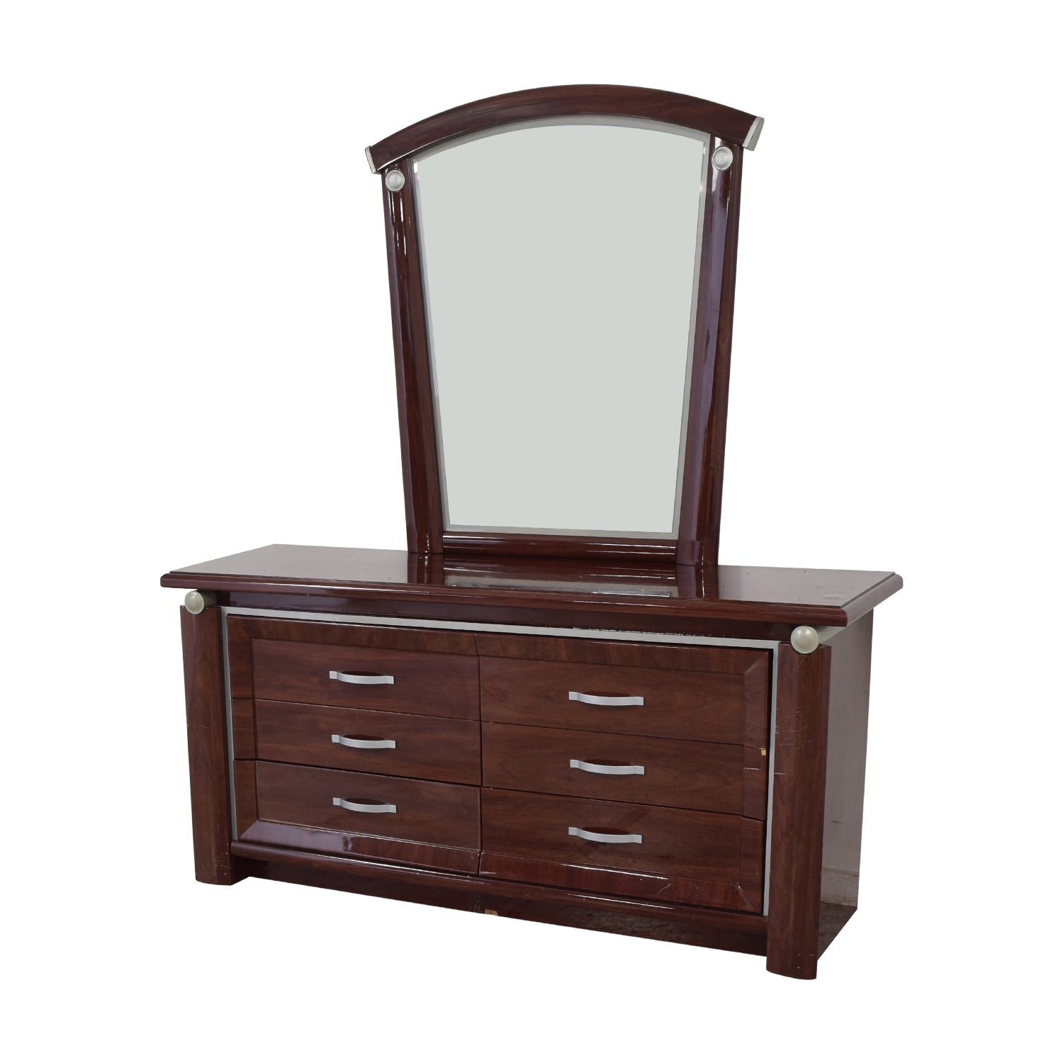 buy Arros Group Furniture Dresser with Mirror Arros Group