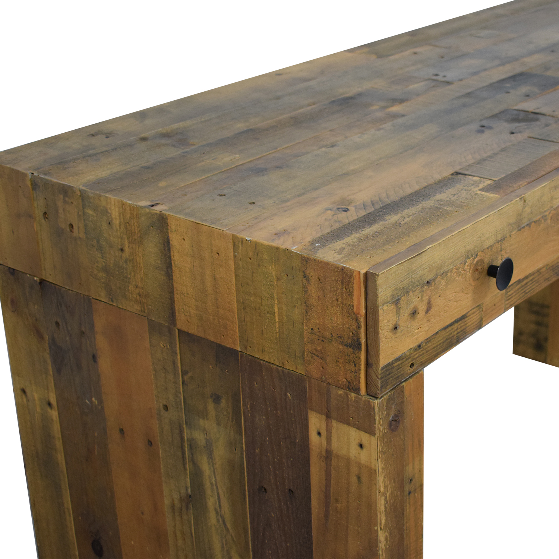 West Elm West Elm Emmerson Reclaimed Wood Desk for sale