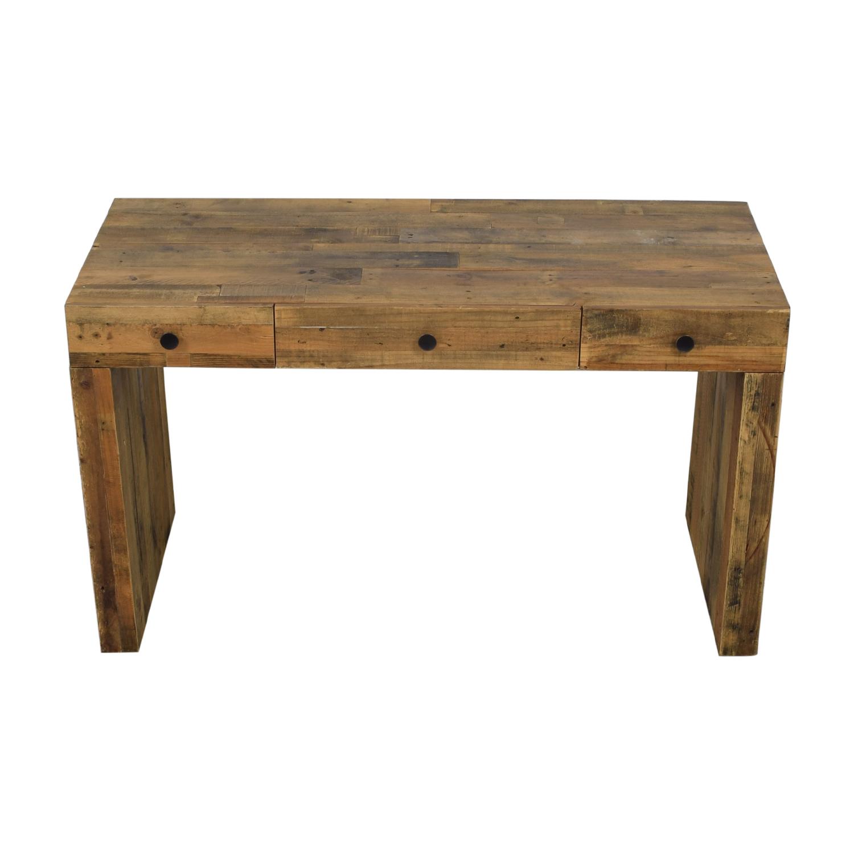 West Elm Emmerson Reclaimed Wood Desk sale