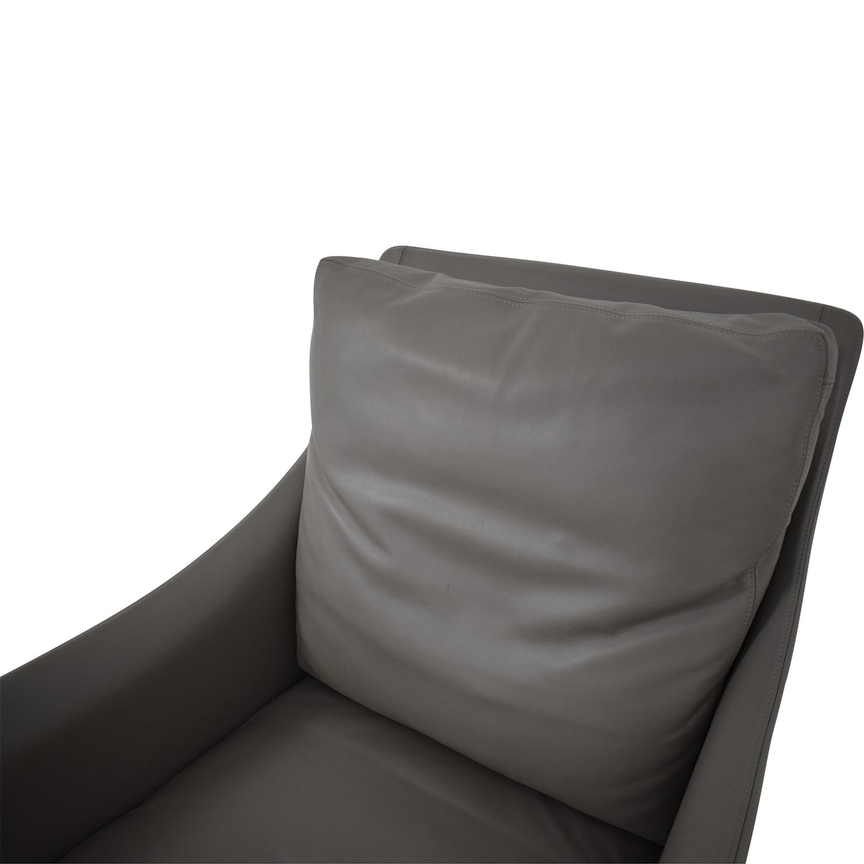 buy Flexform Boss Armchair Flexform Accent Chairs