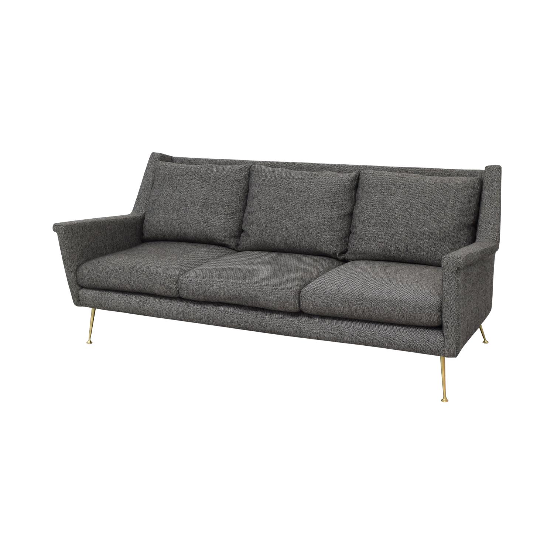 West Elm West Elm Carlo Mid Century Sofa on sale