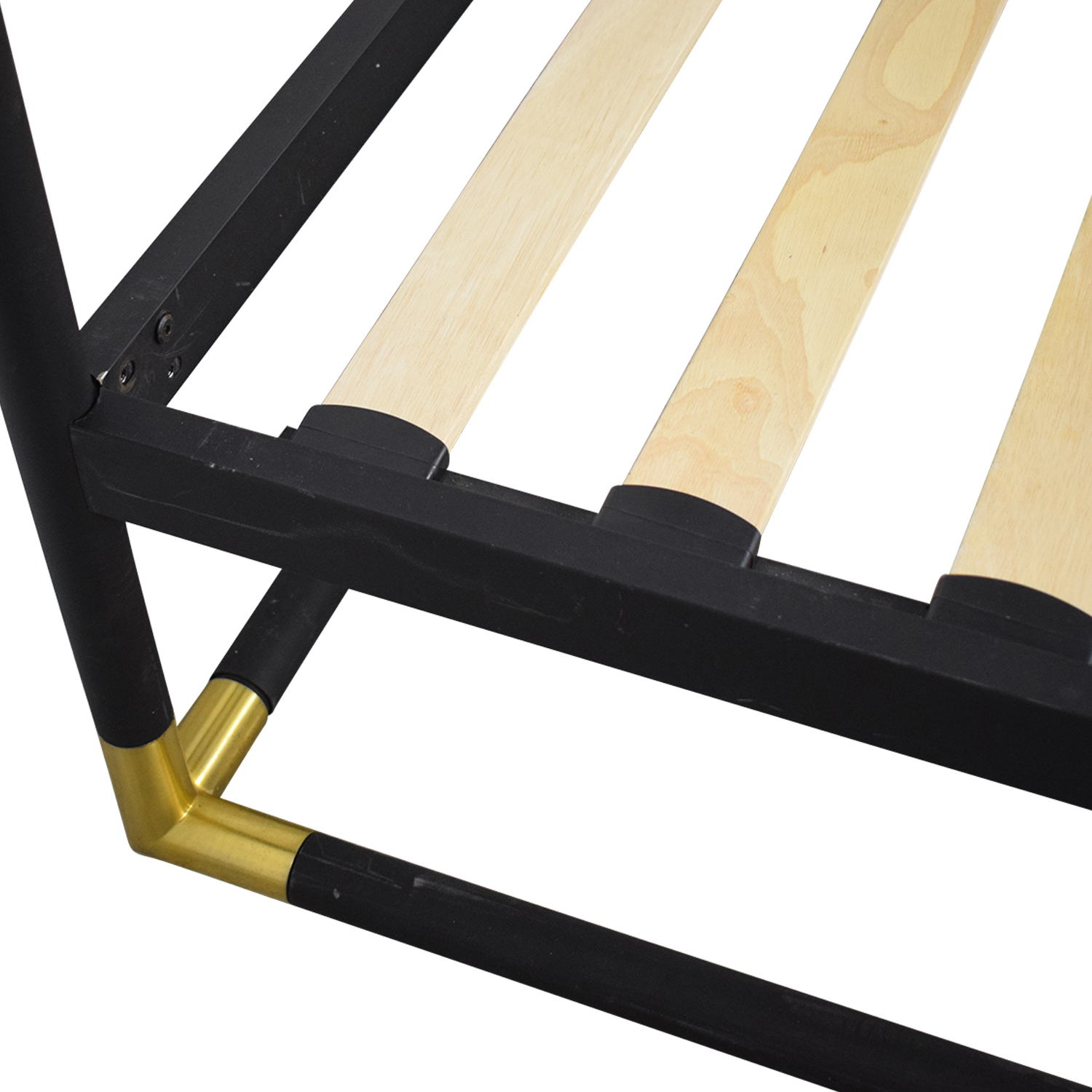 CB2 CB2 Frame Canopy Queen Bed second hand