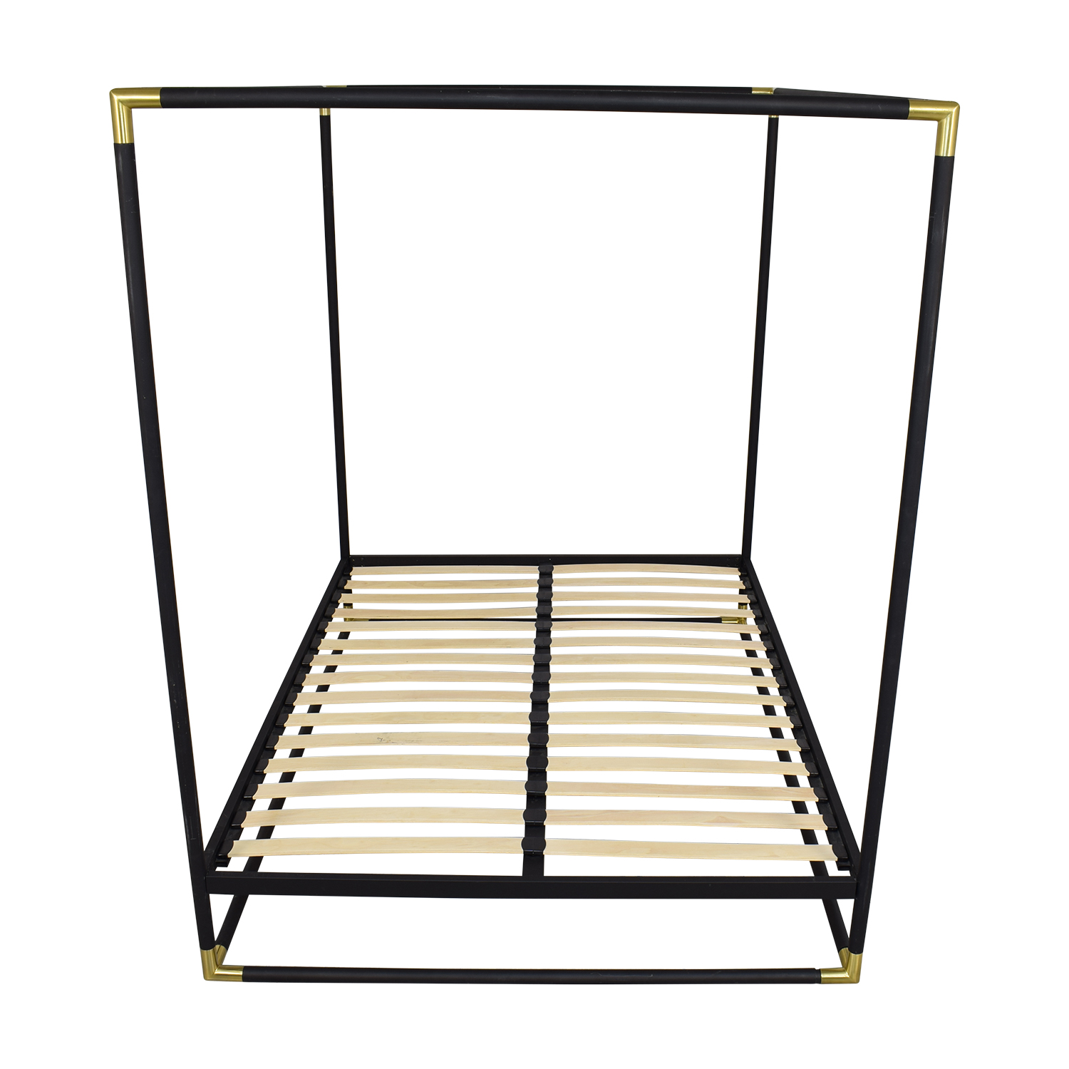 CB2 CB2 Frame Canopy Queen Bed nyc