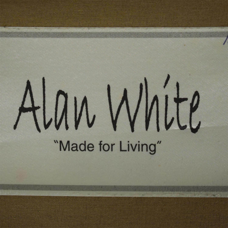 Alan White Alan White Plush Herringbone Sofa used