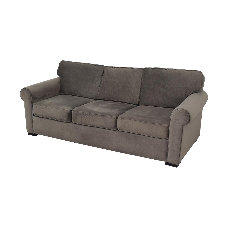 Macy's Macy's Ralston Sofa grey