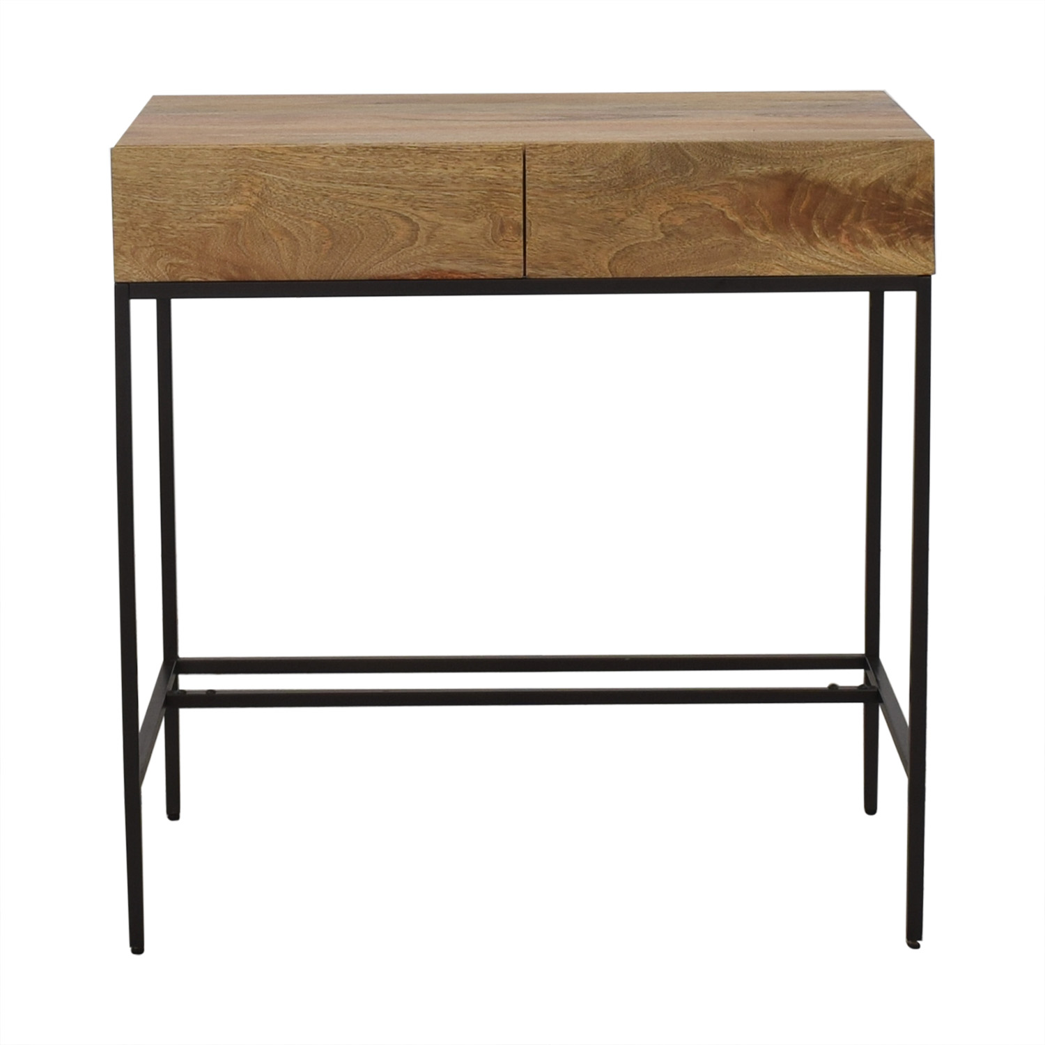 West Elm Industrial Storage Mini Desk sale