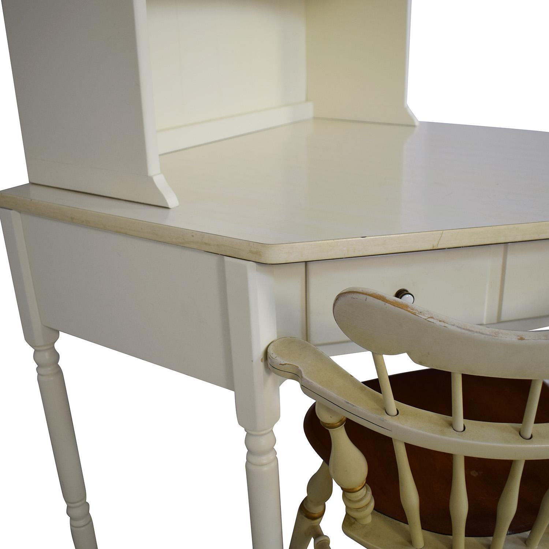 buy Ethan Allen Desk with Hutch Ethan Allen Home Office Desks