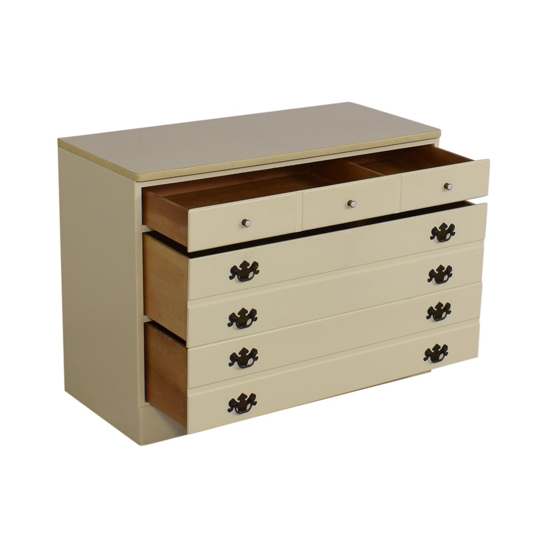 shop Ethan Allen Three Drawer Dresser Ethan Allen Dressers