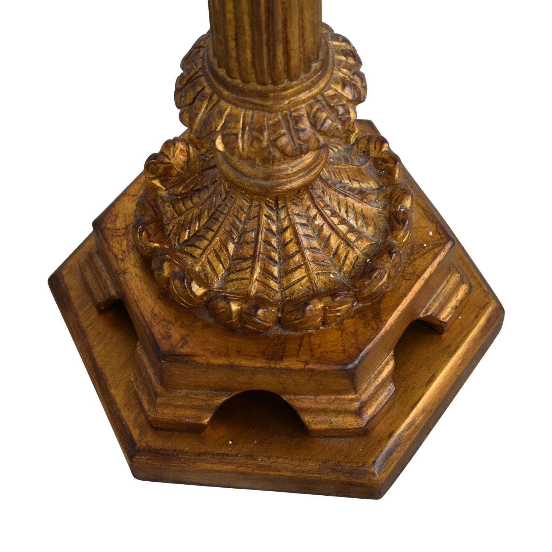buy Ethan Allen Tuscan Column Floor Lamp Ethan Allen