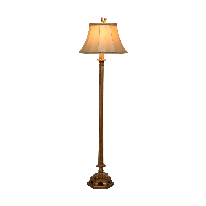 shop Ethan Allen Tuscan Column Floor Lamp Ethan Allen