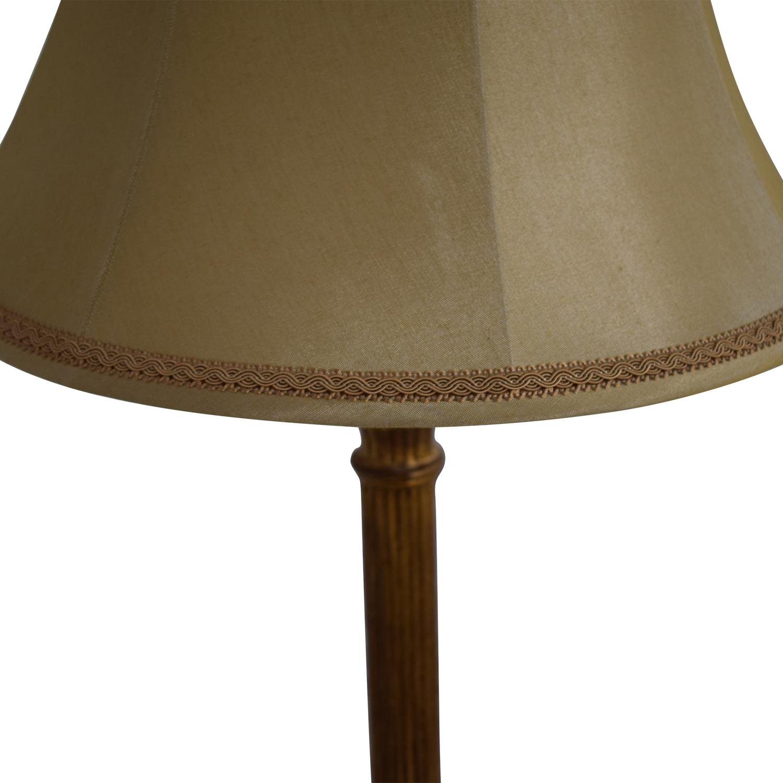 shop Ethan Allen Tuscan Column Floor Lamp Ethan Allen Lamps