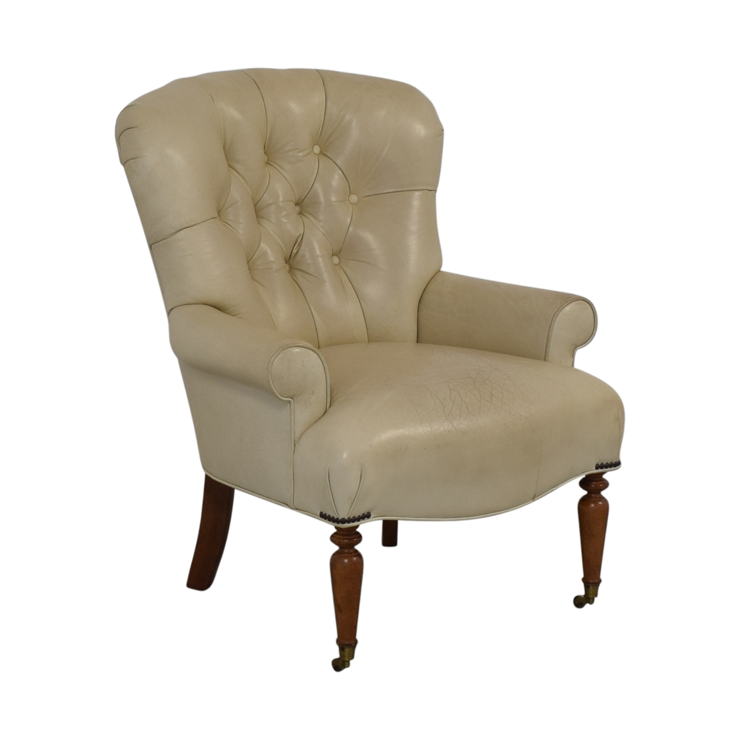 Tufted Accent Chair beige