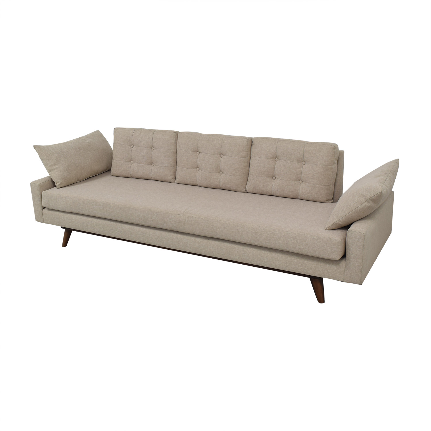 buy Thrive Furniture Mid-Century Sofa Thrive