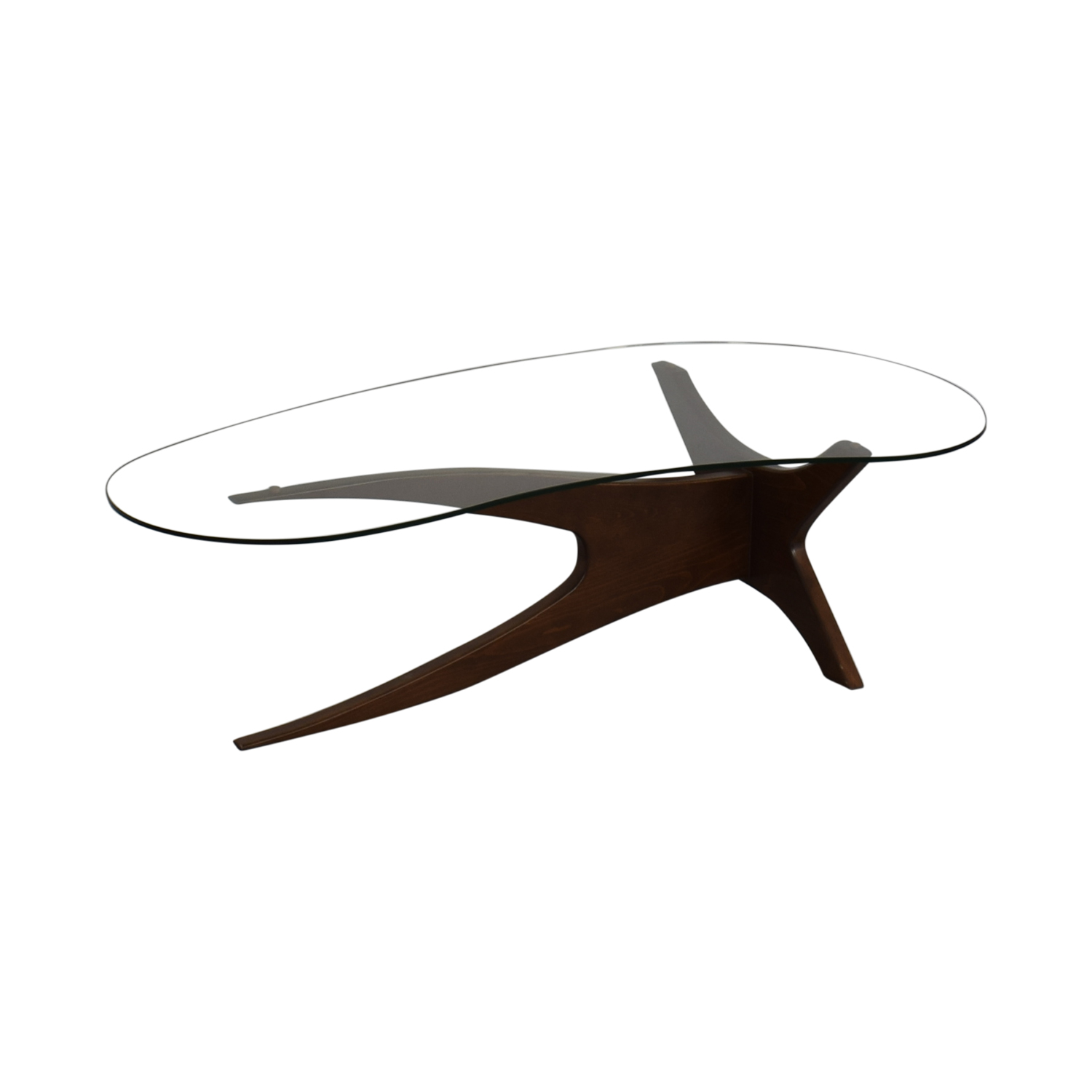 Thrive Thrive Glass Top Modern Coffee Table Tables