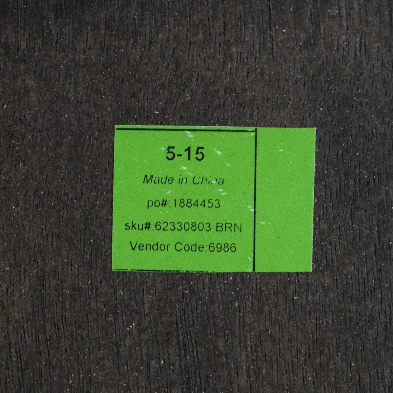 Restoration Hardware Restoration Hardware Brown Oak Table discount