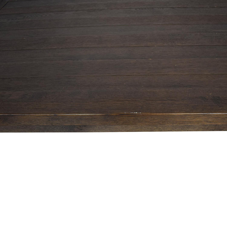 shop Restoration Hardware Restoration Hardware Brown Oak Table online