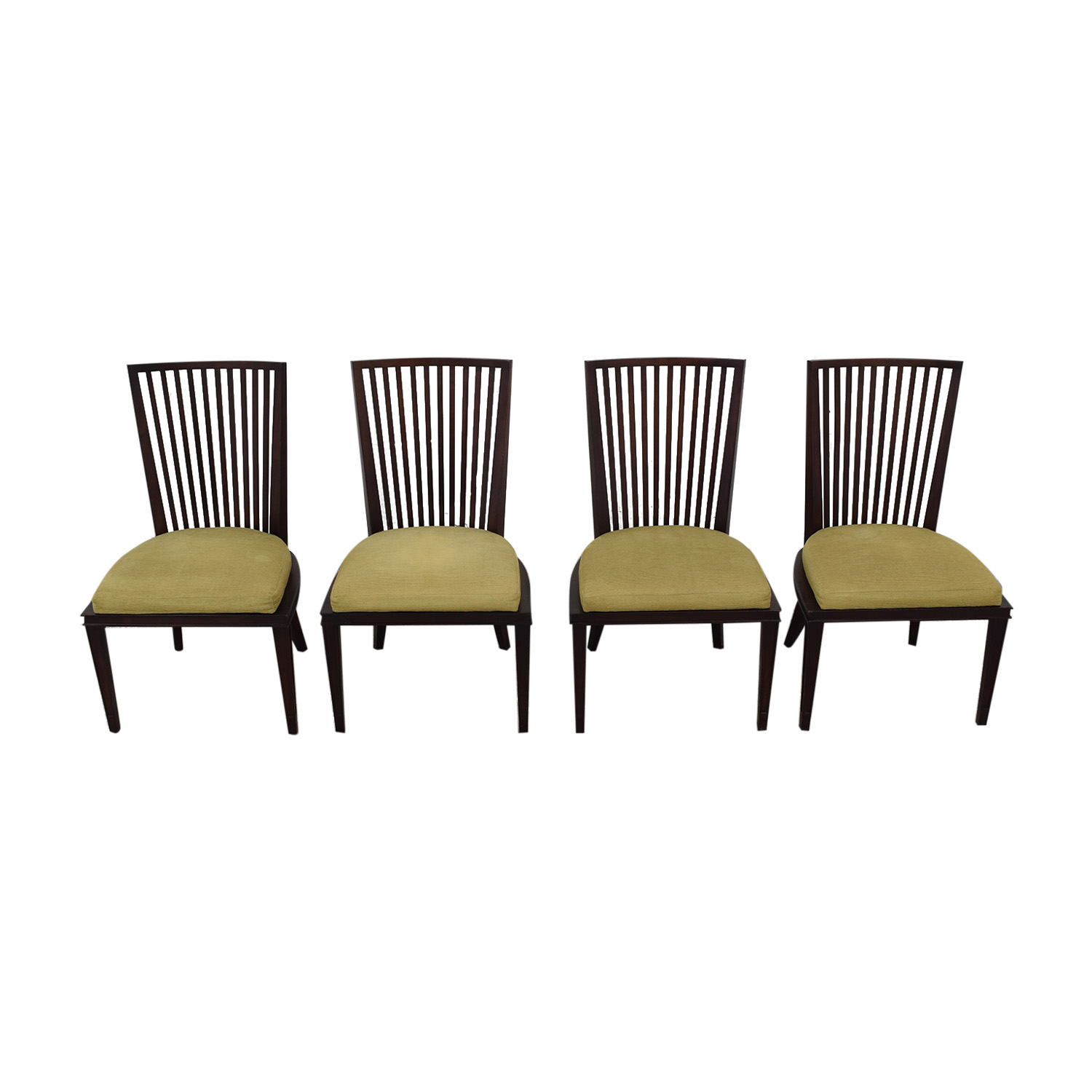 Strange 79 Off Baker Furniture Barbara Barry By Baker Dining Room Chairs Chairs Ibusinesslaw Wood Chair Design Ideas Ibusinesslaworg