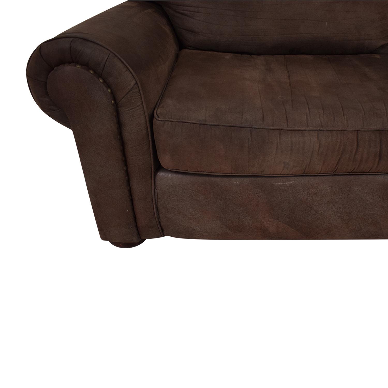 shop Klaussner Two-Cushion Sofa Klaussner Loveseats