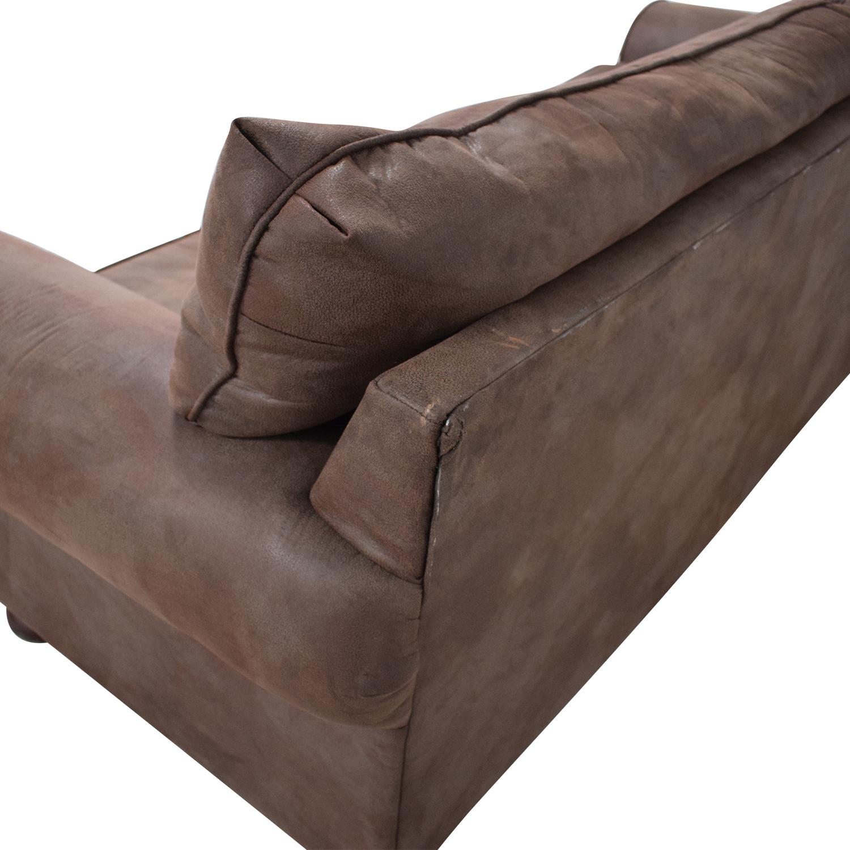 shop Klaussner Two-Cushion Sofa Klaussner