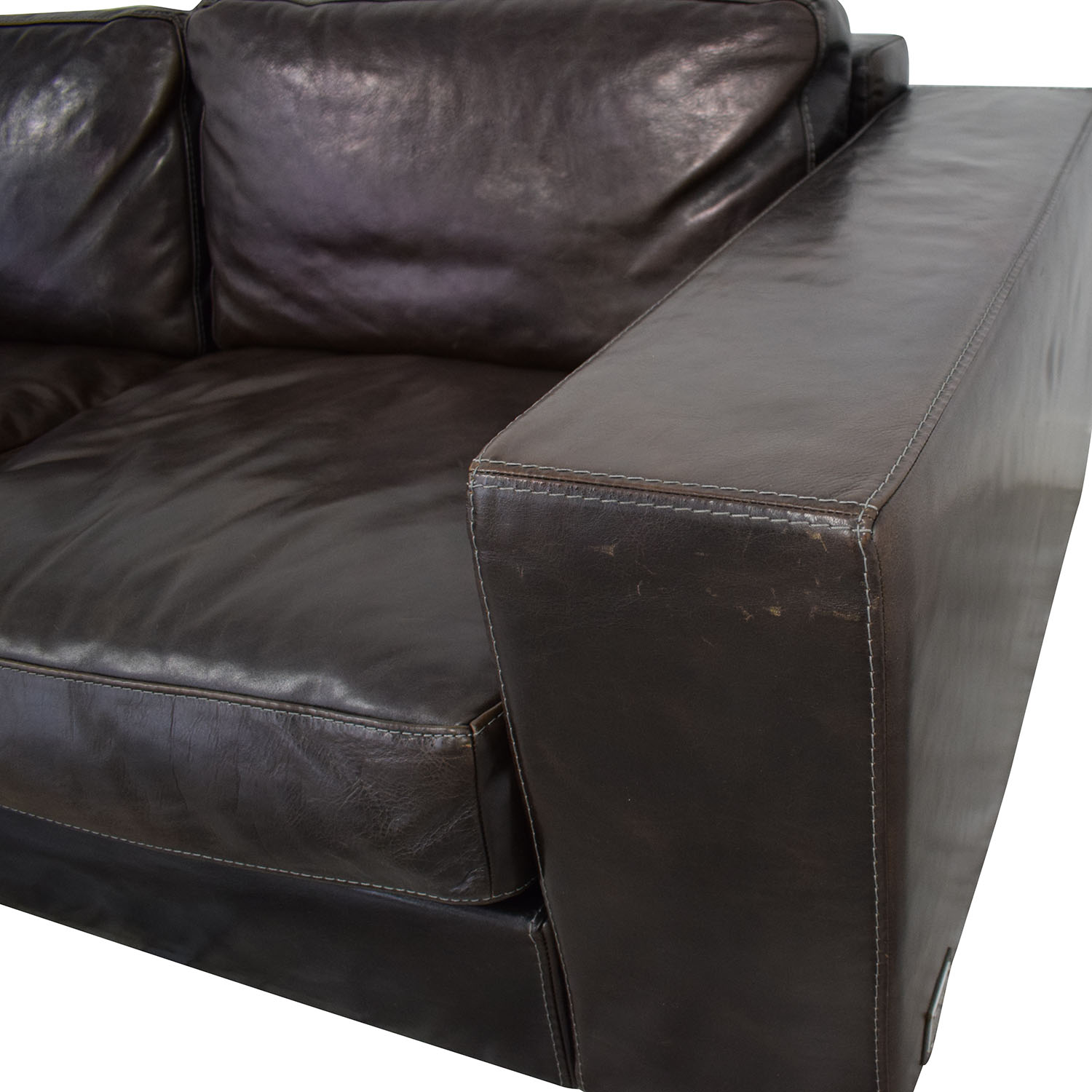 Longhi Longhi LoveLux Collection Chaise Sofa used