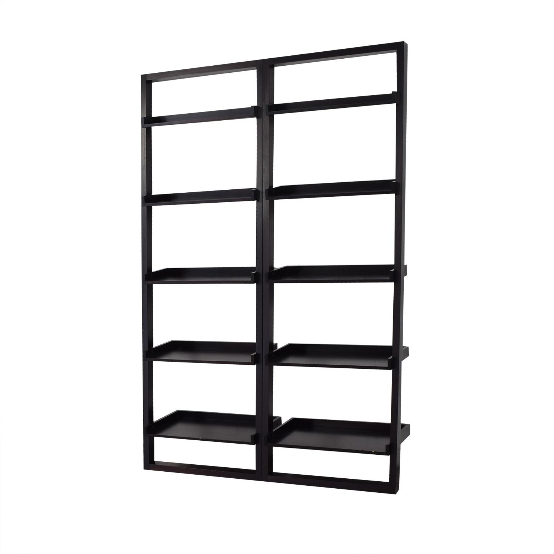 buy Crate &  Barrel Sawyer Leaning Shelves Crate & Barrel