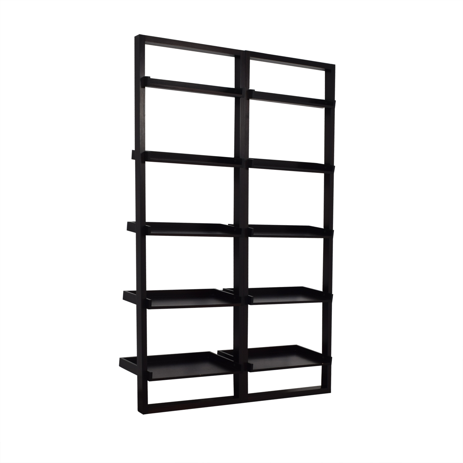 Crate & Barrel Crate &  Barrel Sawyer Leaning Shelves used