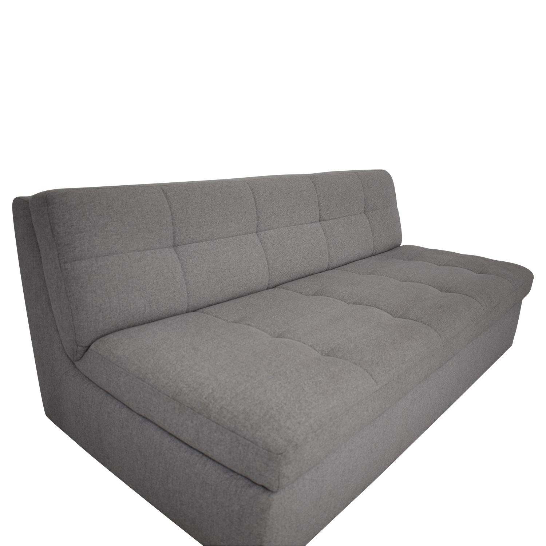 West Elm Plateau Armless Sofa / Classic Sofas