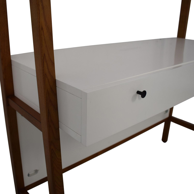 West Elm Modern Wall Desk sale