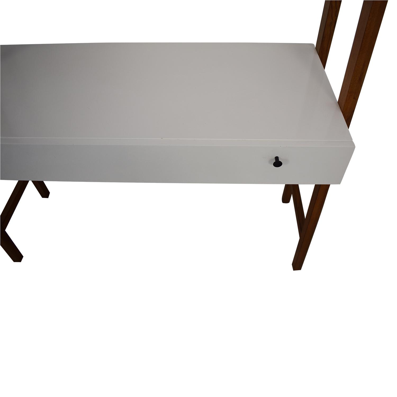 shop West Elm Modern Wall Desk West Elm Tables
