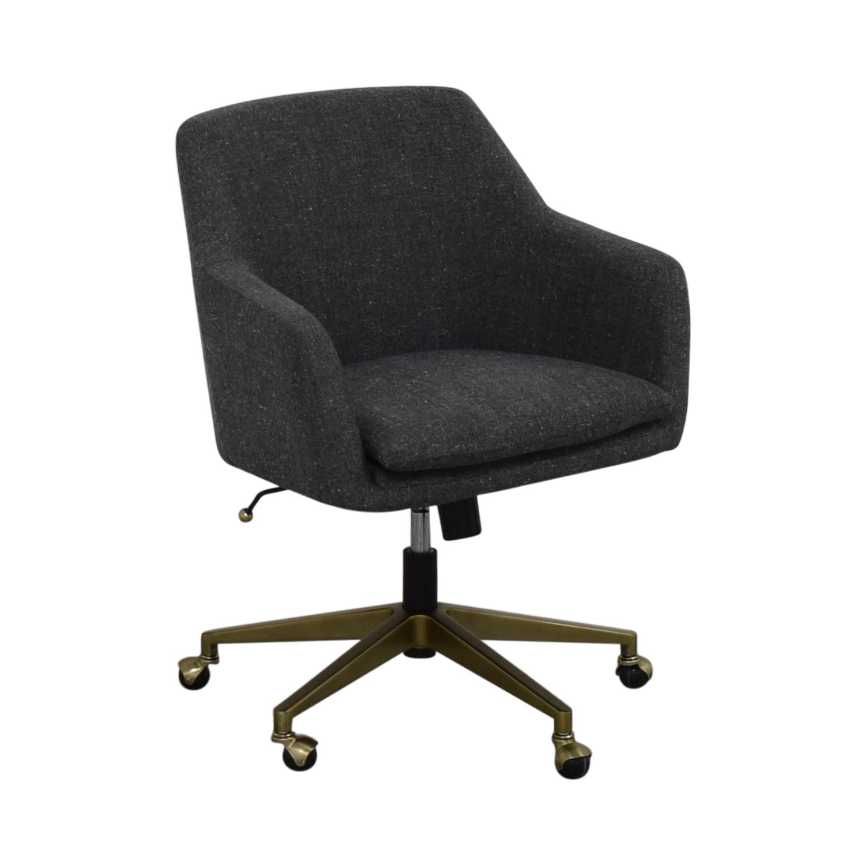 West Elm West Elm Helvetica Fabric Desk Chair second hand