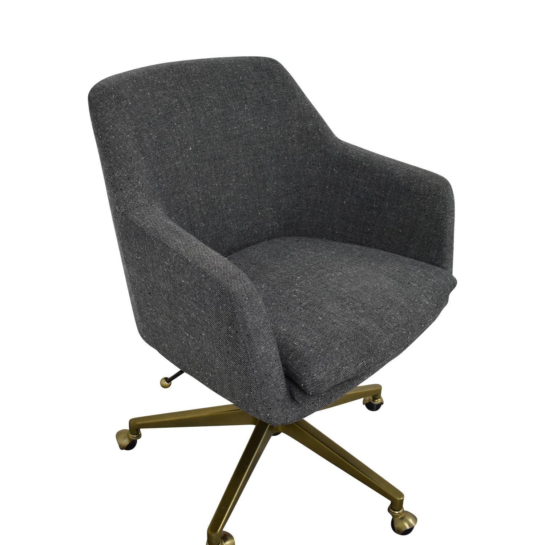 West Elm West Elm Helvetica Fabric Desk Chair coupon