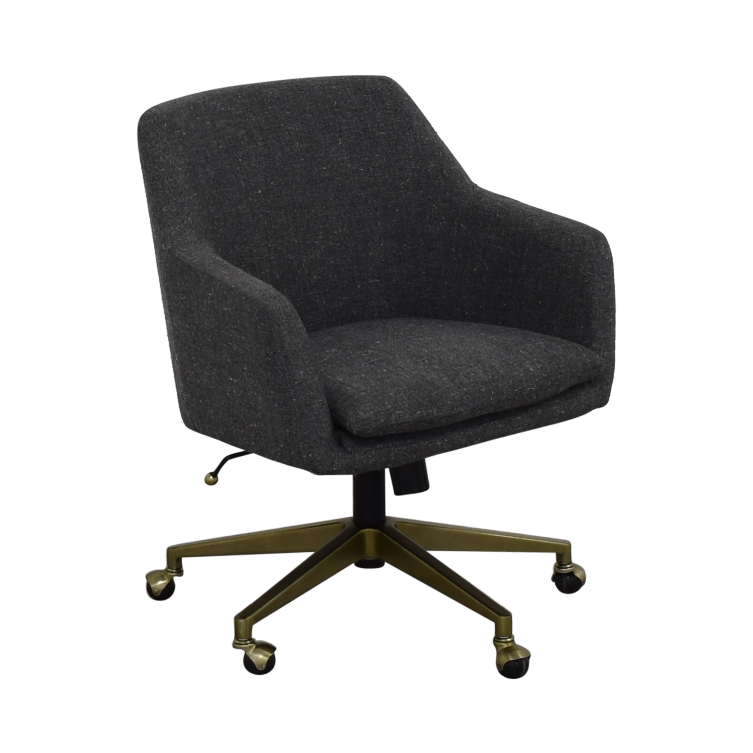 West Elm Helvetica Fabric Desk Chair West Elm