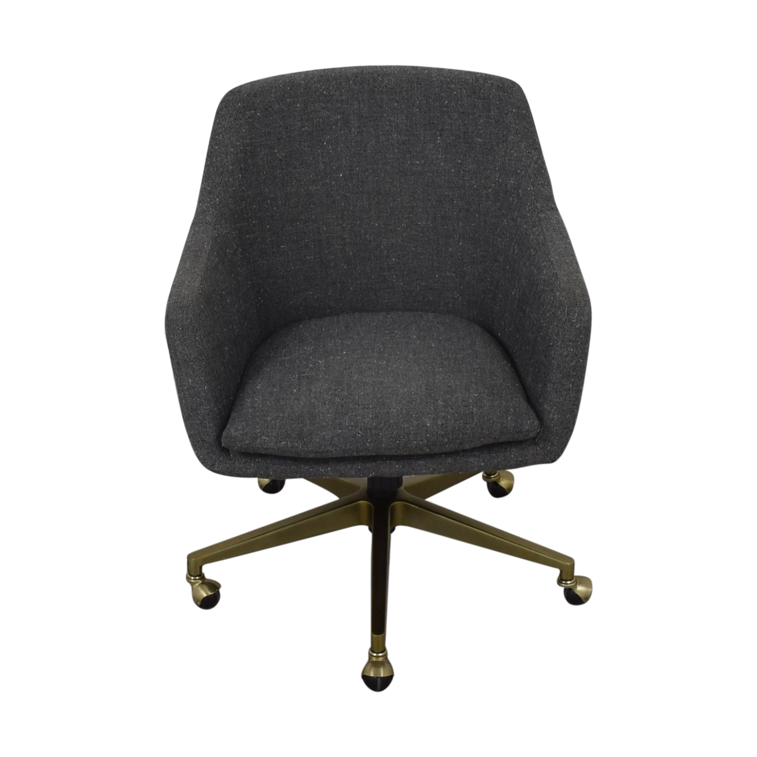 West Elm West Elm Helvetica Fabric Desk Chair