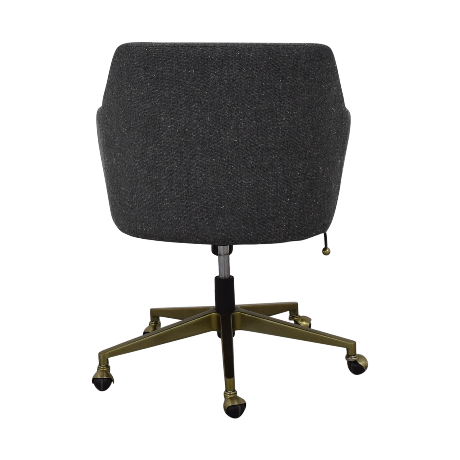 buy West Elm Helvetica Fabric Desk Chair West Elm