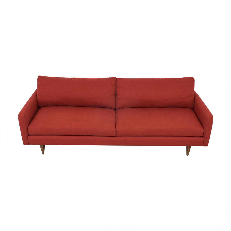 Room & Board Room & Board Jasper Sofa red