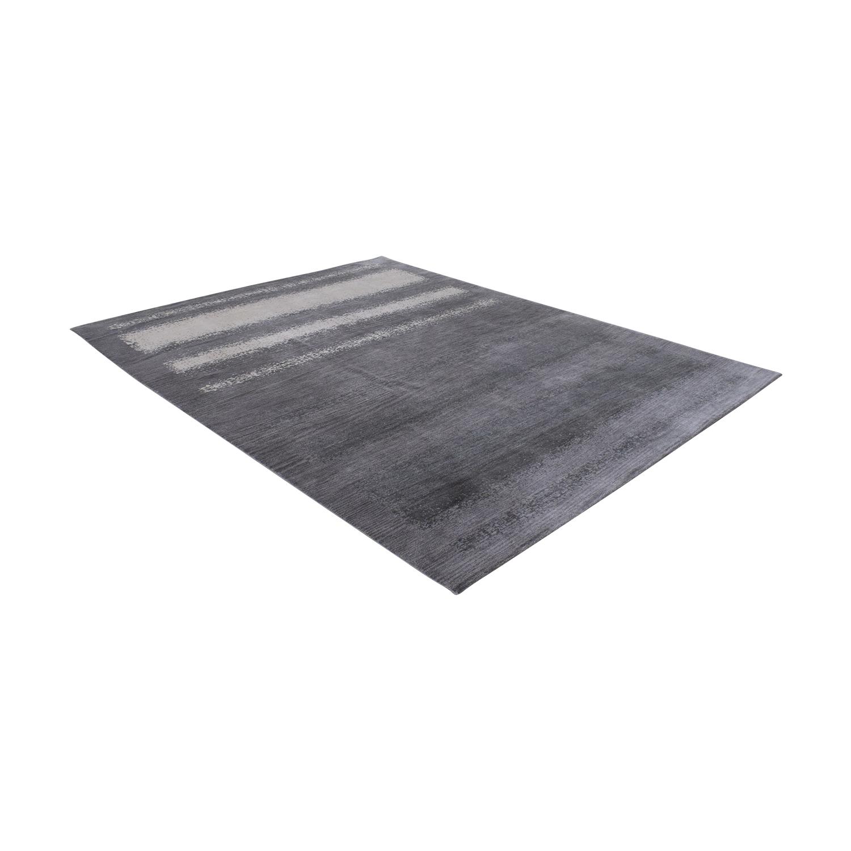 Room & Board Room & Board Grey Ombre Rug Decor