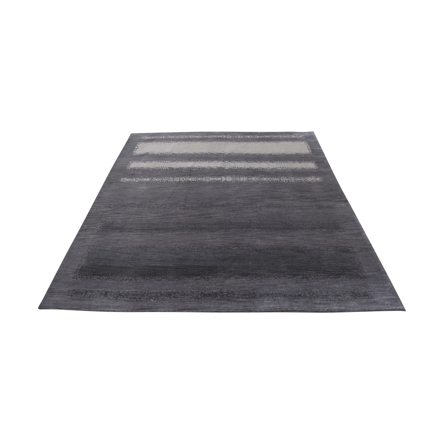 Room & Board Room & Board Grey Ombre Rug dimensions