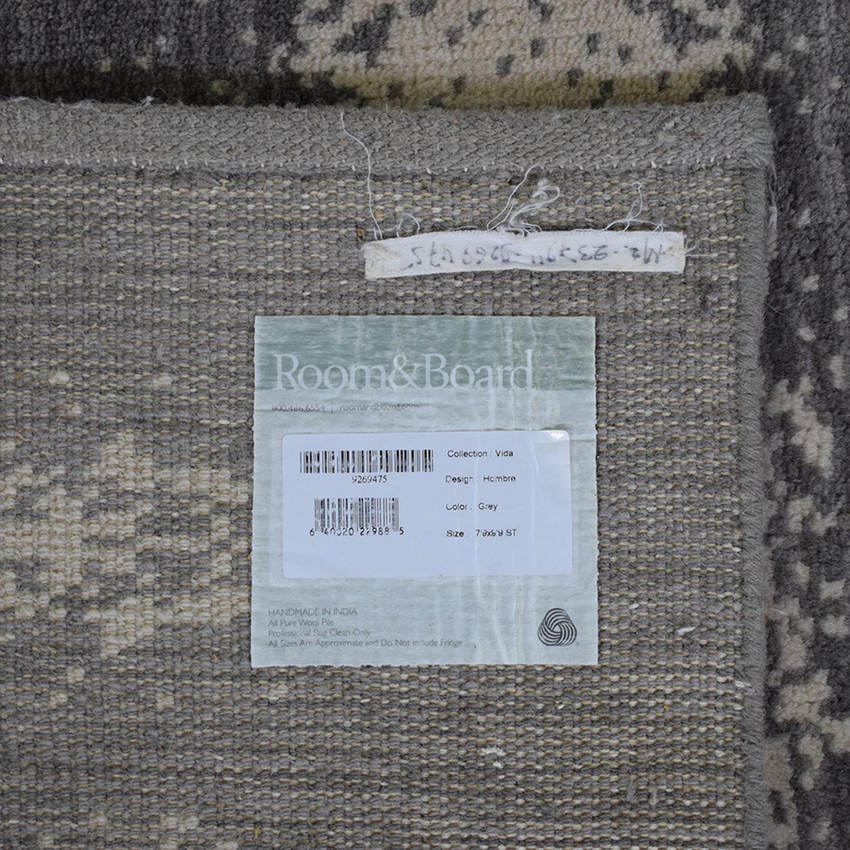 Room & Board Room & Board Grey Ombre Rug on sale