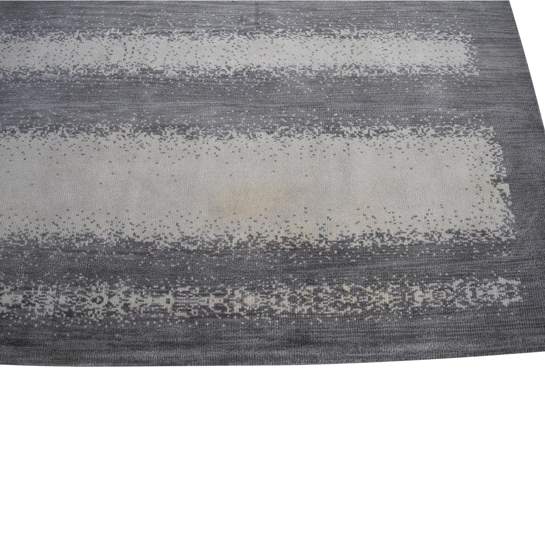 Room & Board Grey Ombre Rug sale