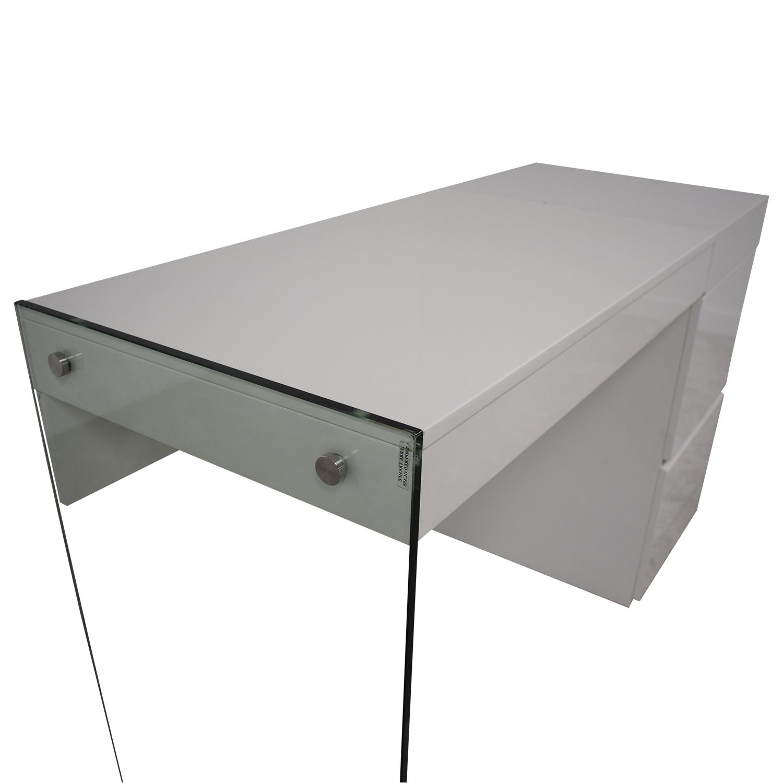 AllModern AllModern Casabianca Furniture II Vetro Vanity Desk nyc