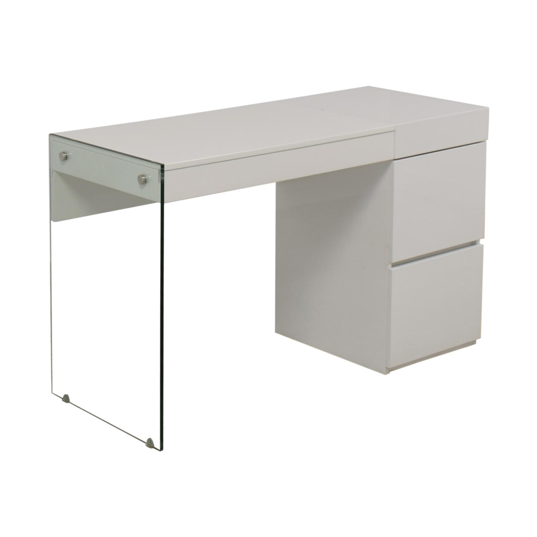shop AllModern AllModern Casabianca Furniture II Vetro Vanity Desk online
