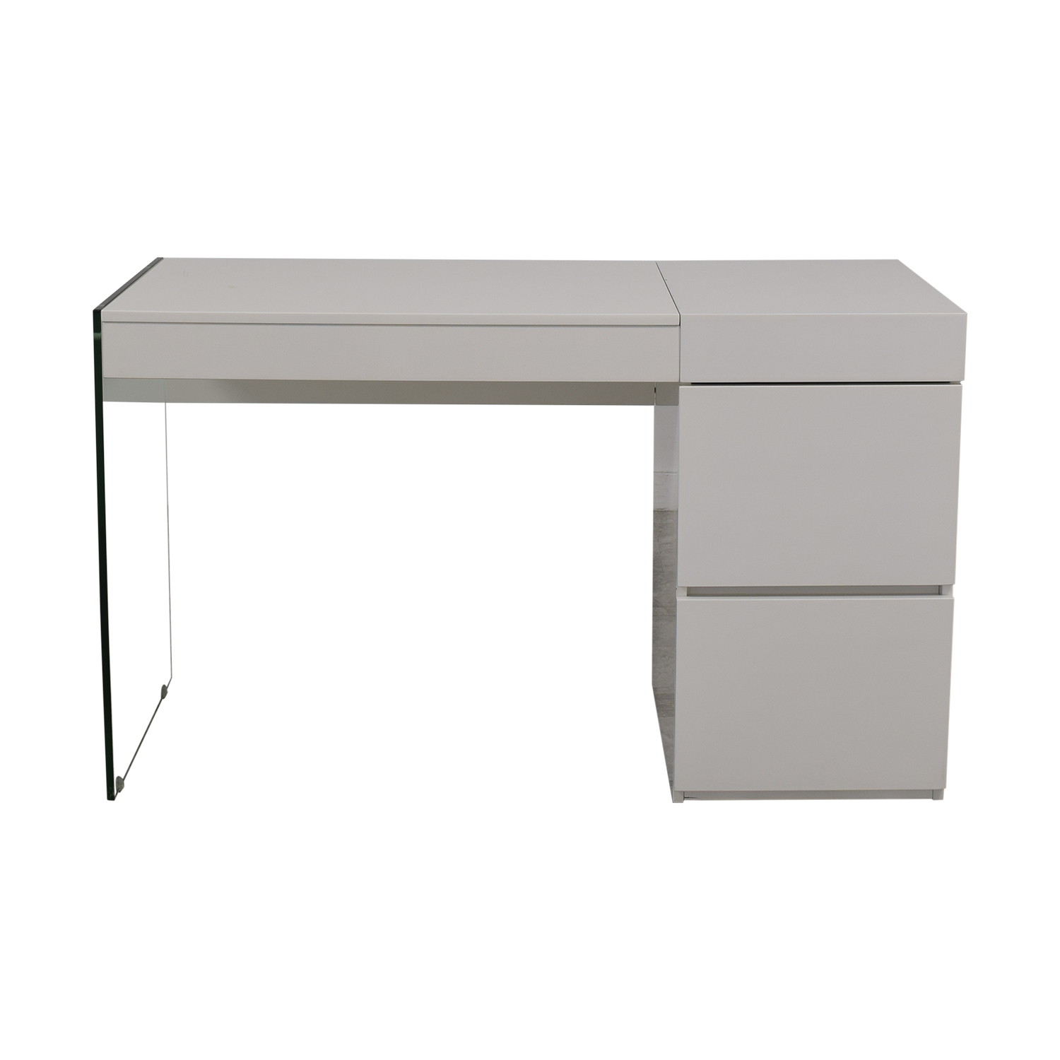 AllModern AllModern Casabianca Furniture II Vetro Vanity Desk nyc