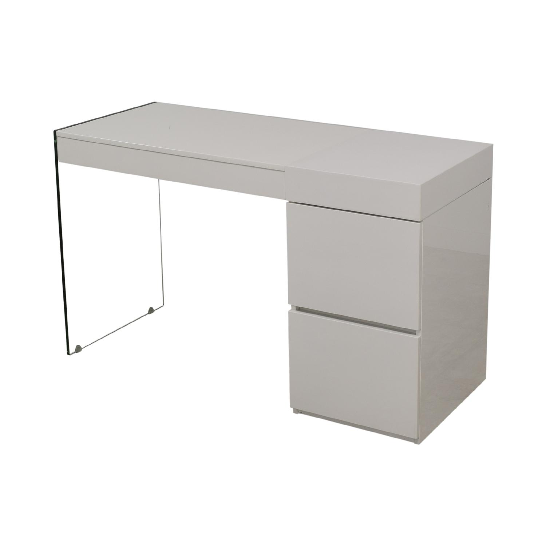 AllModern AllModern Casabianca Furniture II Vetro Vanity Desk price