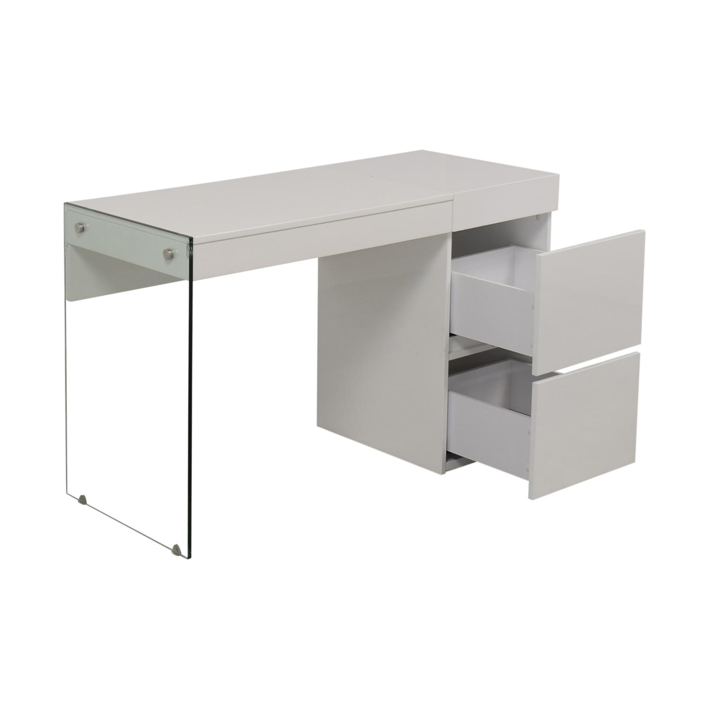 AllModern AllModern Casabianca Furniture II Vetro Vanity Desk dimensions